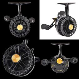 Inline Ice Fishing Reel Right/Left Handed 2.7 1 Gear Ratio R