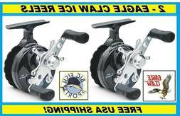 EAGLE CLAW Inline Ice Reel #ECILIRB FREE USA SHIPPING NEW Cr