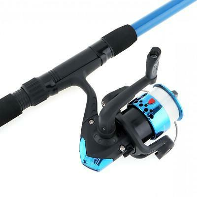 1.8m Fishing Reel Line Spinning Reel Pole with