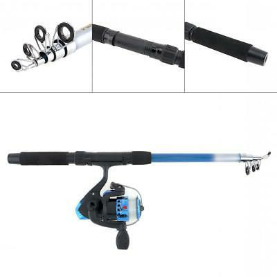 1.8m Reel Line Combo Full Spinning Reel Set