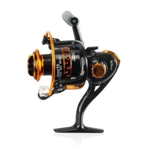 2000-5000 Saltwater Fishing Reels Aluminum Spool Spinning