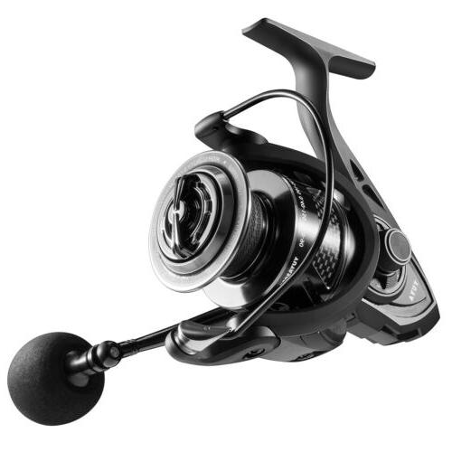 Spinning Freshwater Fishing Ratio 8+1BB Stainless