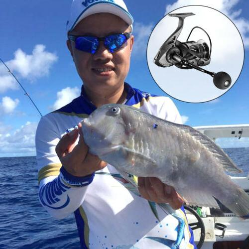 Spinning Reel Saltwater Fishing 5.2:1Gear Stainless