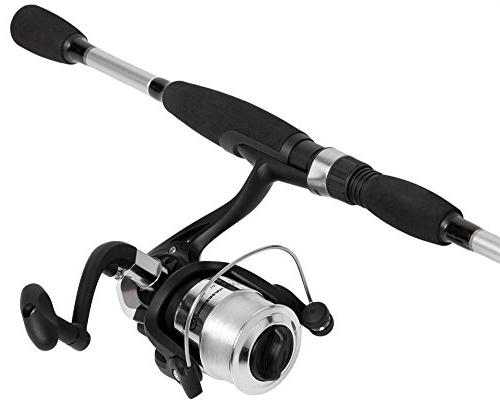 Spinning Rod and Combo in Metallic Finish