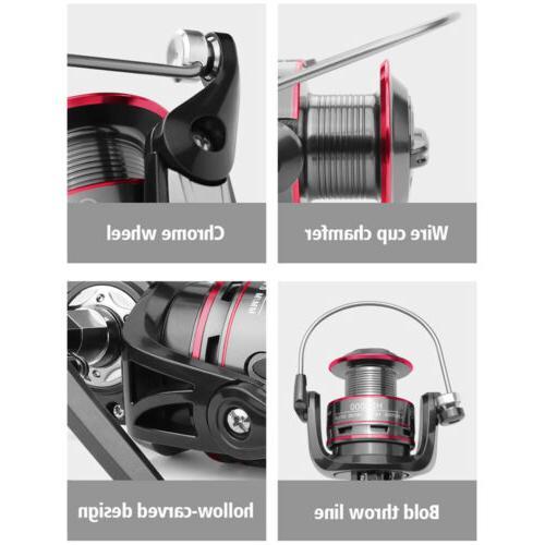 All Metal Spinning Reel 8KG Max Spool Saltwater