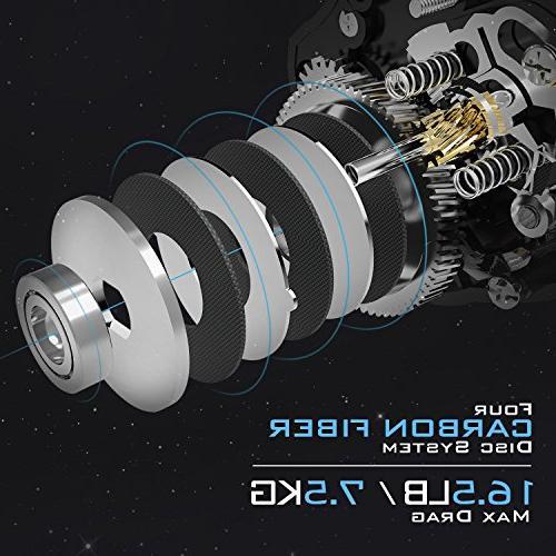 KastKing Assassin Baitcasting Only OZ, 16.5 LB Carbon Fiber Drag, Dual Our Lightest Baitcaster