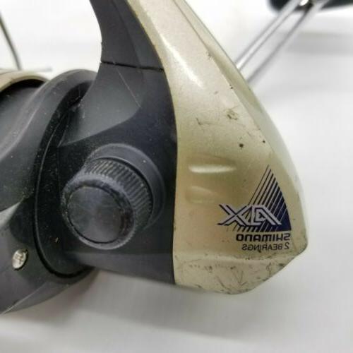 Shimano AX 4000FB Bearings Spinning and