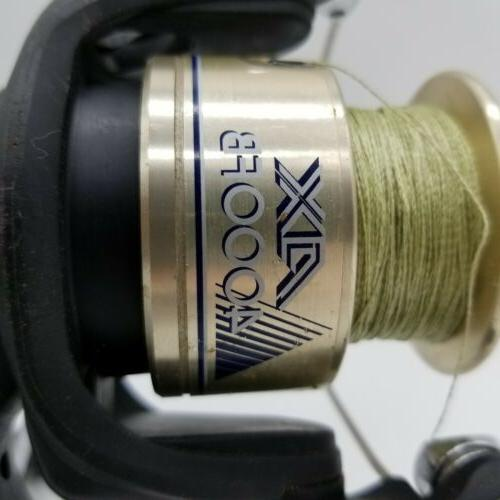 Shimano AX 4000FB Bearings Reel and Green