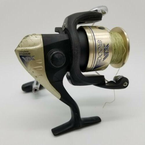 ax 4000fb 2 bearings spinning reel black