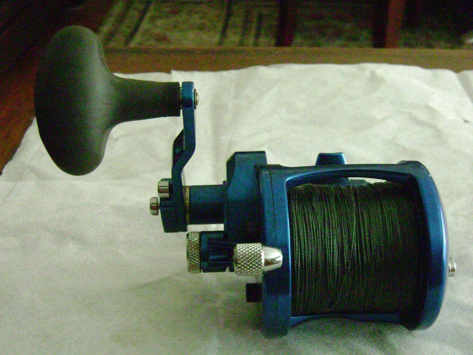 AVET BLUE - 2 SPEED LX6/3 - LEVER DRAG - SALTWATER FISHING R