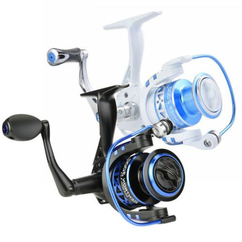 **New Clam Dave Genz Big Fish Ice Fishing Reel 6bb 10141