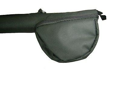 """CORDURA FLY ROD AND REEL TRAVEL CASE 37"""" FOR  11FT  4PC OR 9"""