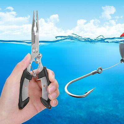 Fishing Pliers Saltwater Stainless Remover