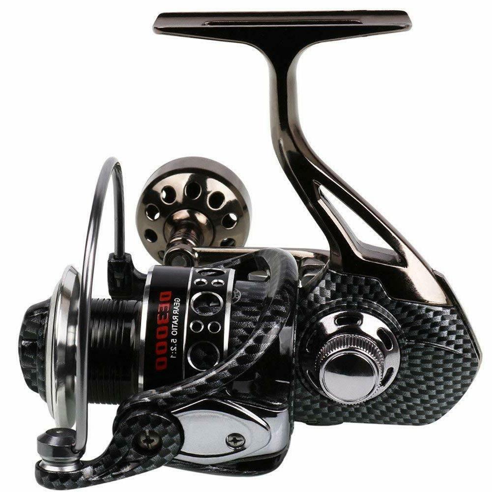 fishing reel 12 1bb light smooth metal