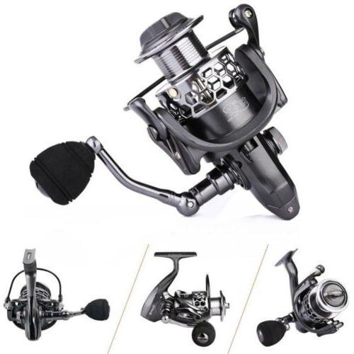 Sougayilang Fishing Reel 13+1BB Light Smooth Aluminum XY1000