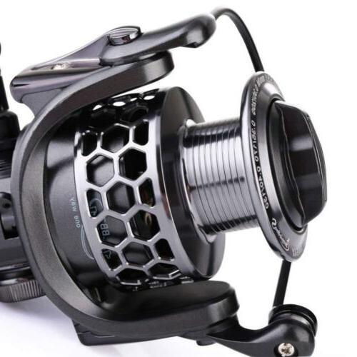 Sougayilang Fishing Reel 13+1BB Light Ultra Aluminum