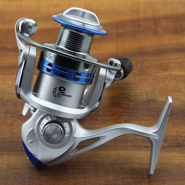 Fishing Reel 9 Ball Bearing Alu Spinning Reels High Speed 5.2:1