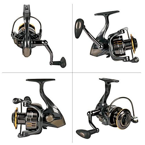Sougayilang Smooth Gear Casting Freshwater Reels