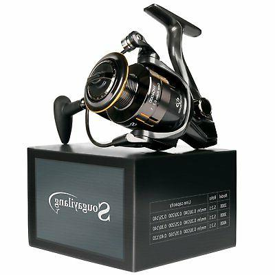 Fishing Reel Bass Gear Spinning Casting Left Right Saltwater