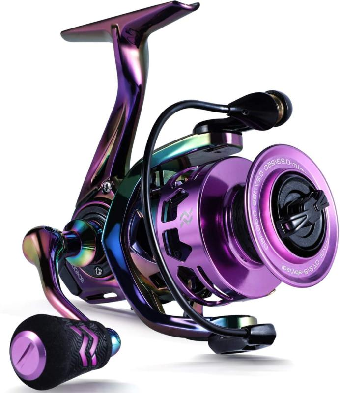 fishing reel colorful ultralight spinning reels
