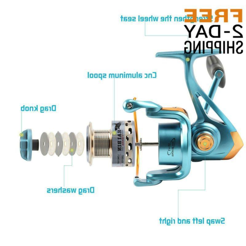 Sougayilang Fishing 11+1Bb Left/Right Gear