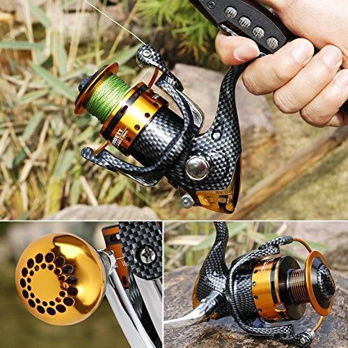 12+1 and Smooth Spinning and Freshwater Fishing