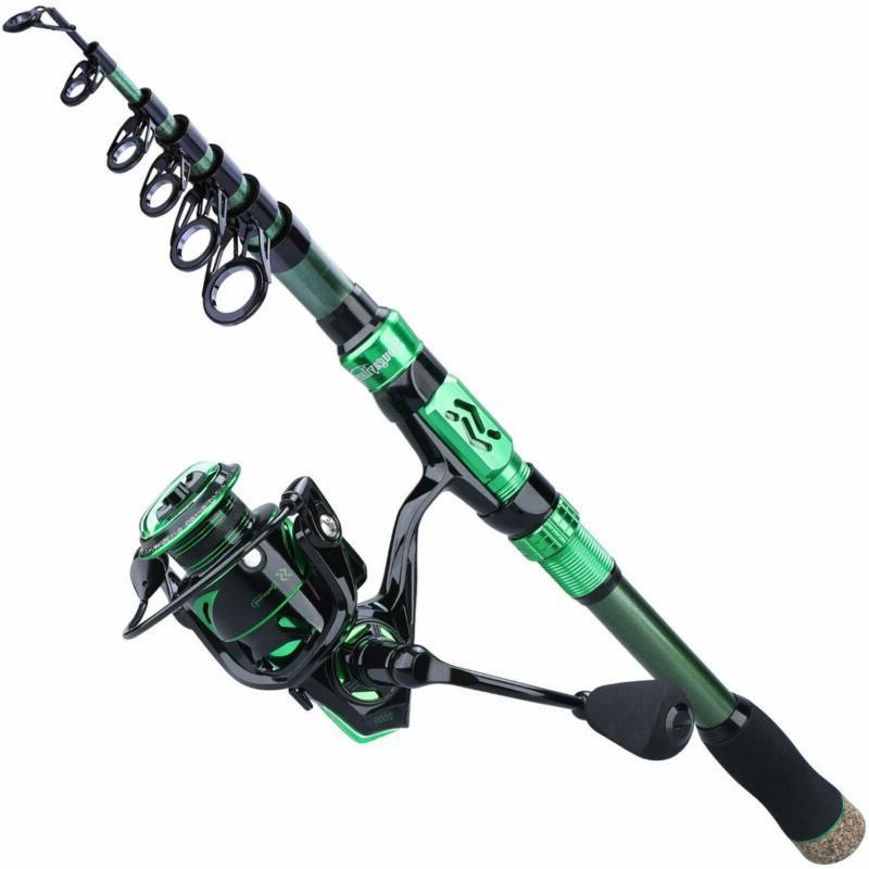 fishing rod reel combos portable telescopic fishing