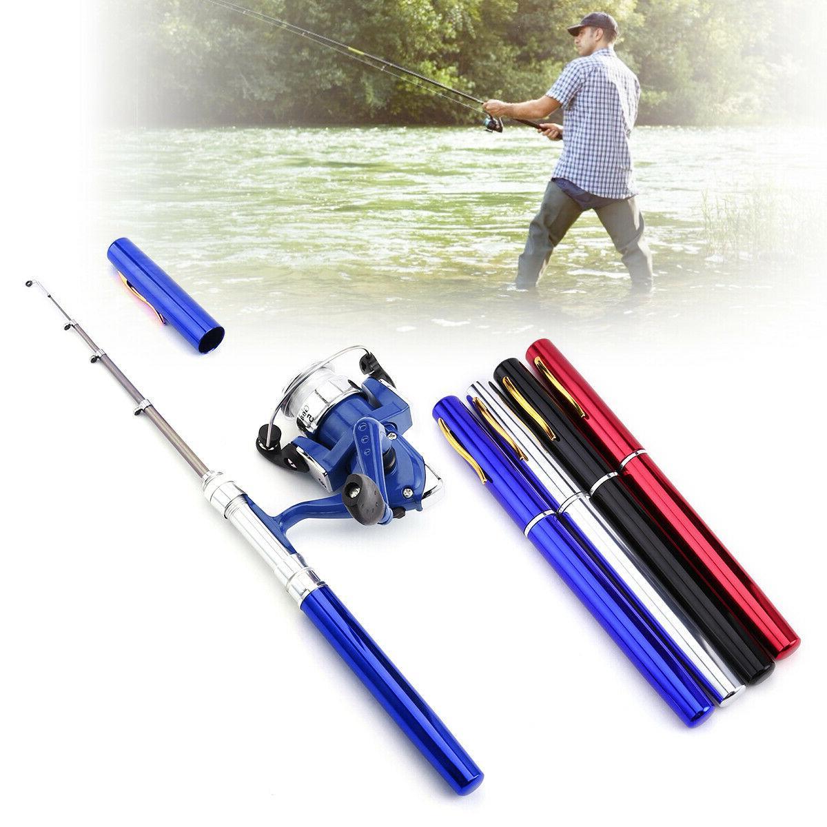 Fishing Rod Mini Portable Alloy