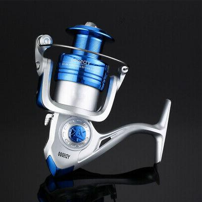 Spinning Fishing Reel YD500-YD6000 12BB Metal Arm Right