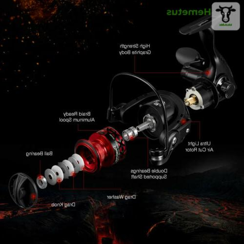 Piscifun Spinning Reels Light Ultra Smooth Powerful Spinning...