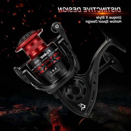 Piscifun Flame Spinning Reels Light Ultra Powerful