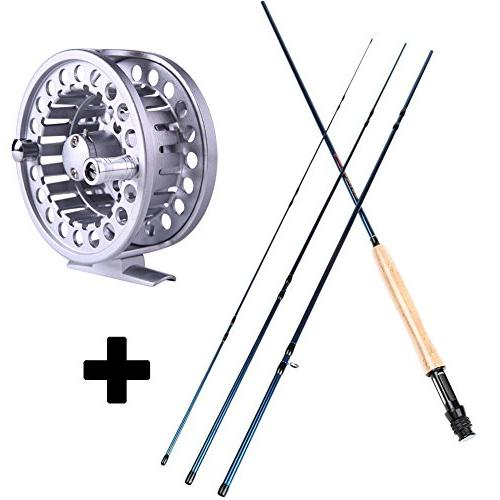 Sougayilang Fly Fishing Rod And Reel Combos Lightweight