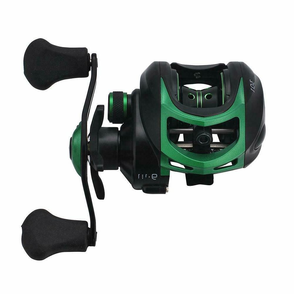 High Speed Bait Casting Fishing Reel 20 Ball Bearings 9.1:1