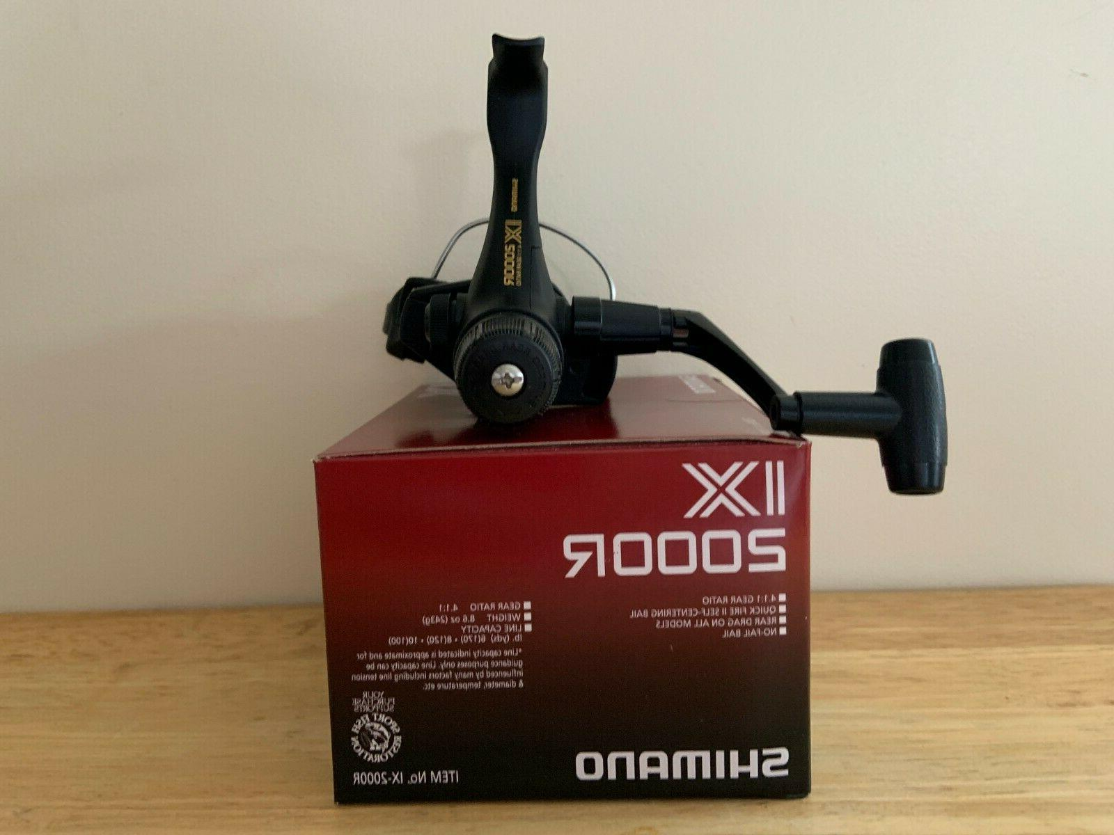 Shimano IX 2000R reel