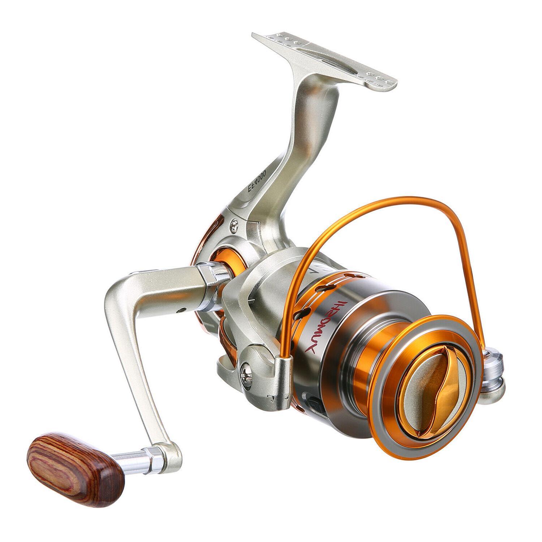 Large Spinning Reel Speed Durable & Saltwater Surf Fishing 12BB
