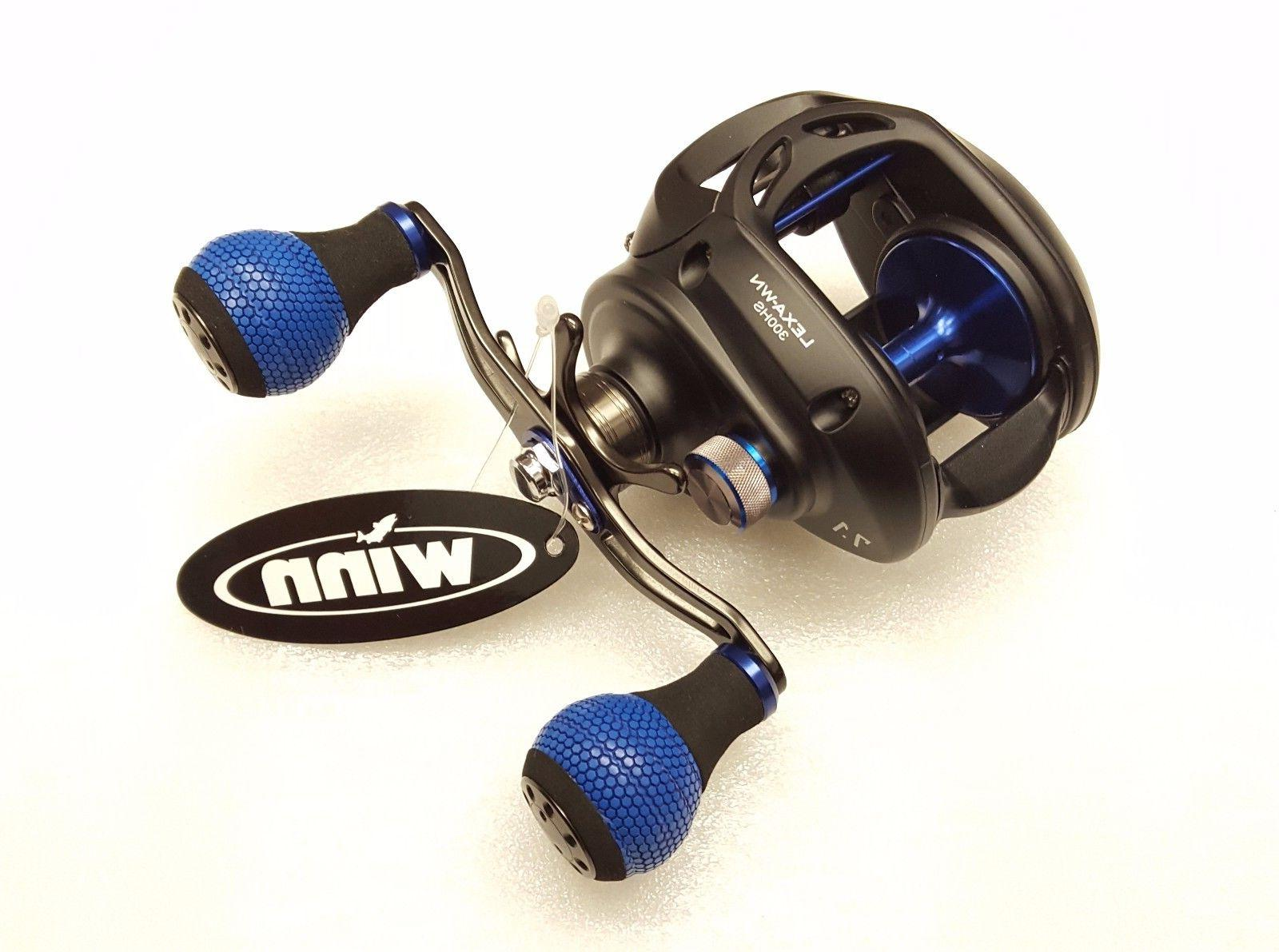 Daiwa LEXA TYPE-WN 7.1:1 Right Hand Dual Handle Baitcast Ree