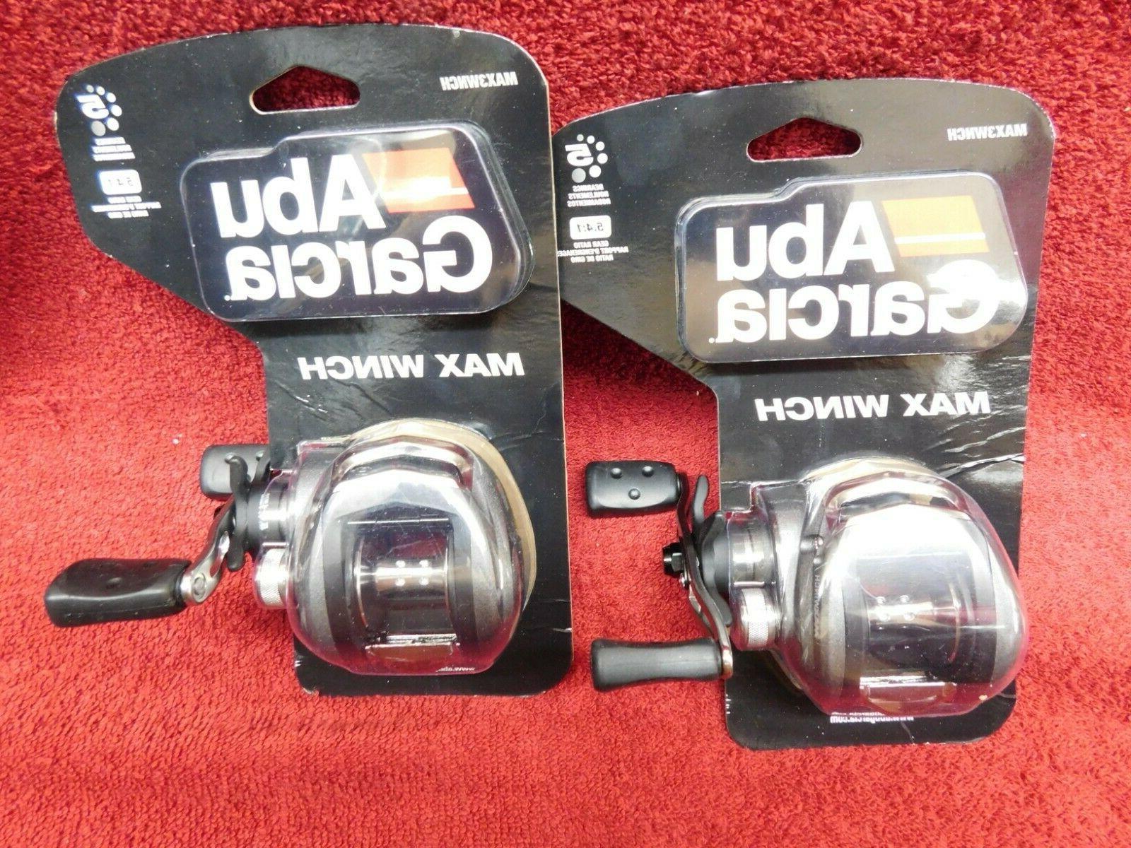 max3wnch fishing reels lot of 2