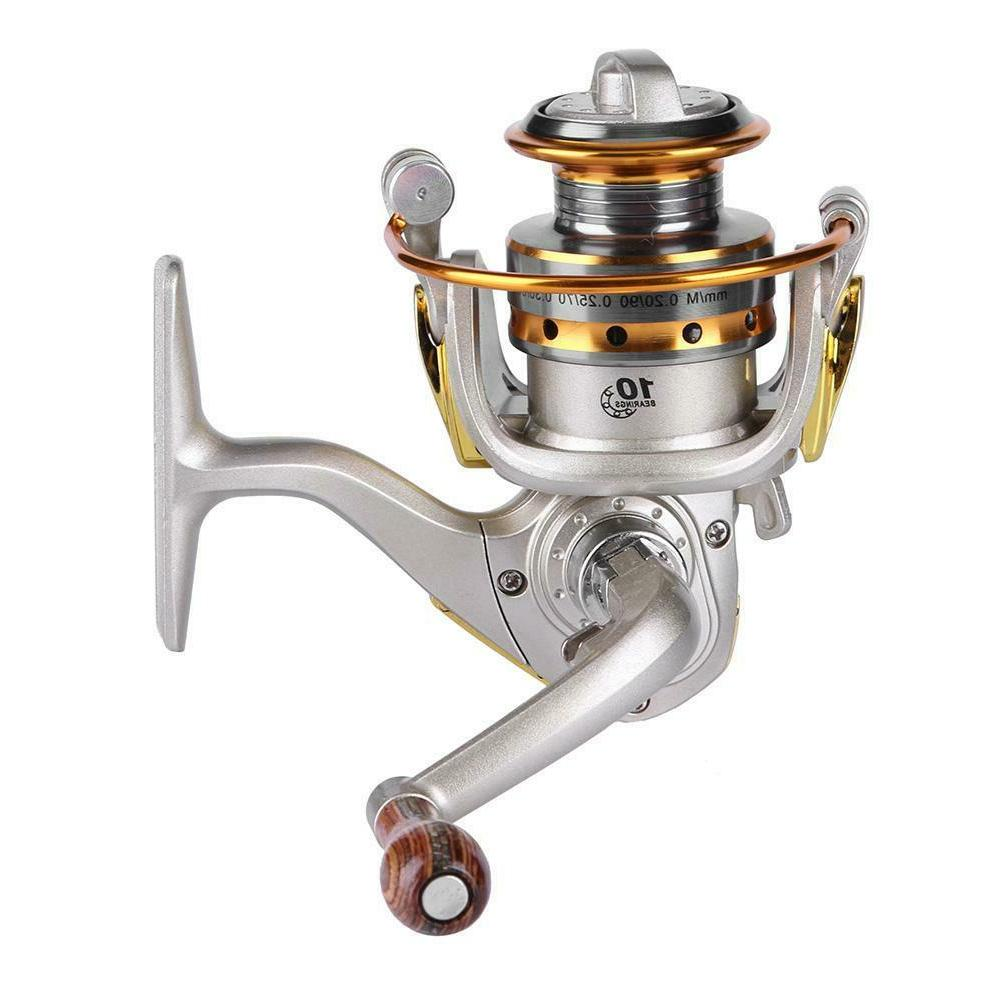 mini 10 bearing spinning reel ice fishing