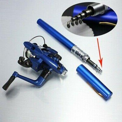 Mini Gear Fishing Pocket Fish Pole US