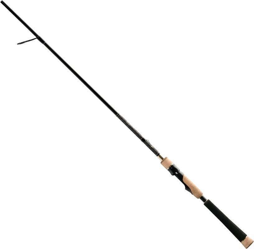 "13 Fishing Muse Gold 6'3"" Medium-Large Spinning Fishing Rod"