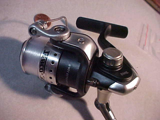 NEW ZEBCO 33 MICRO SPINNING REEL ultra light 4 lb test line