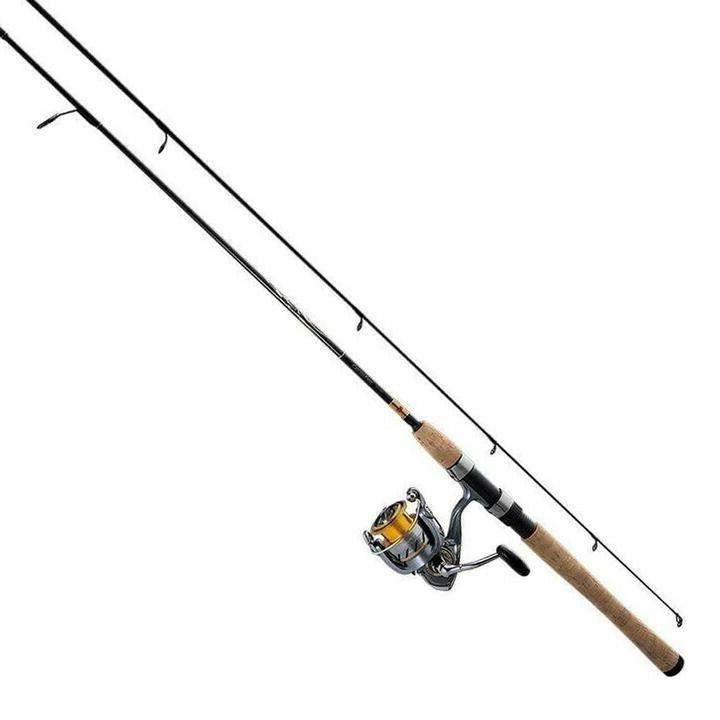 new crossfire lt 2 piece spinning combo