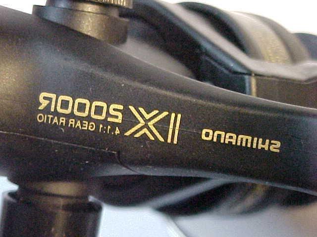 NEW R2000 spinning reel R QUICK FIRE TRIGGER rear drag