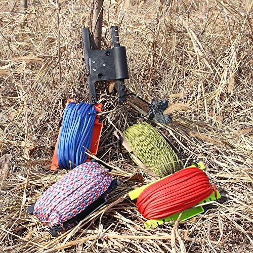 Survival Rope Winder 550 Keeper Parachute Line Reel Multifunctional Outdoor Survaval Tool