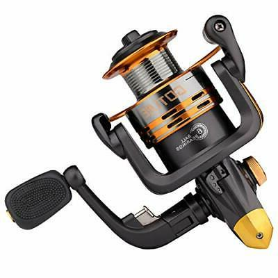 Goture Spinning Fishing Reel Metal Spool 6bb for Freshwater
