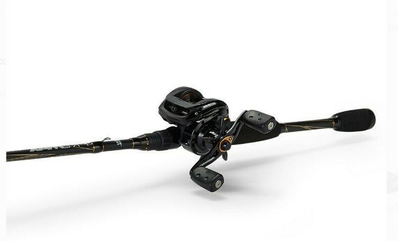 Abu Garcia Pro Max Low Profile Baitcast Reel and Fishing Rod