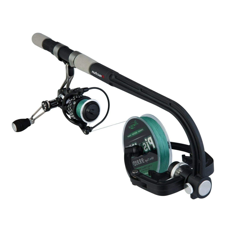 professional portable spooling station fishing reel line