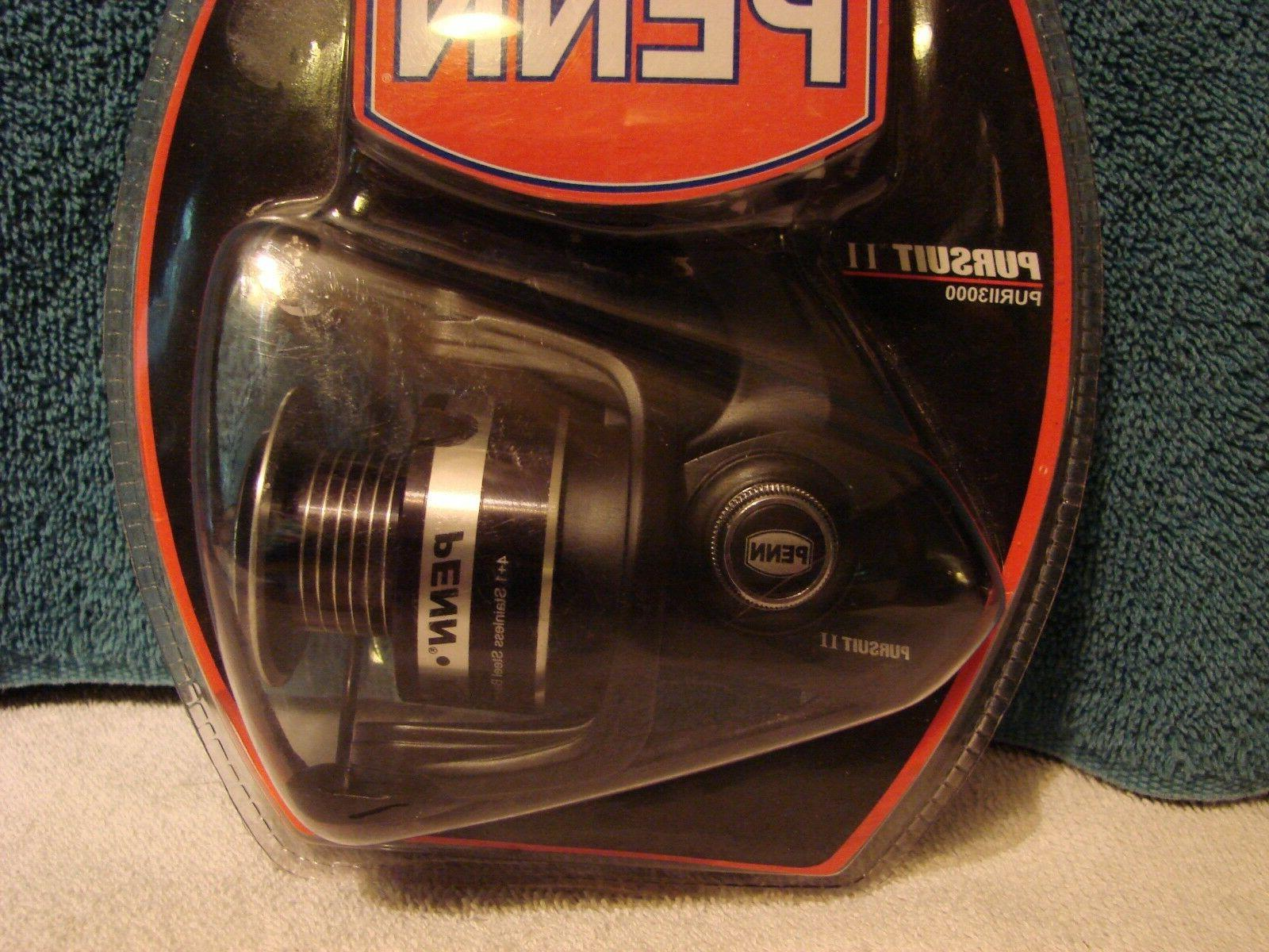 pursuit ii 3000 spinning fishing reel new
