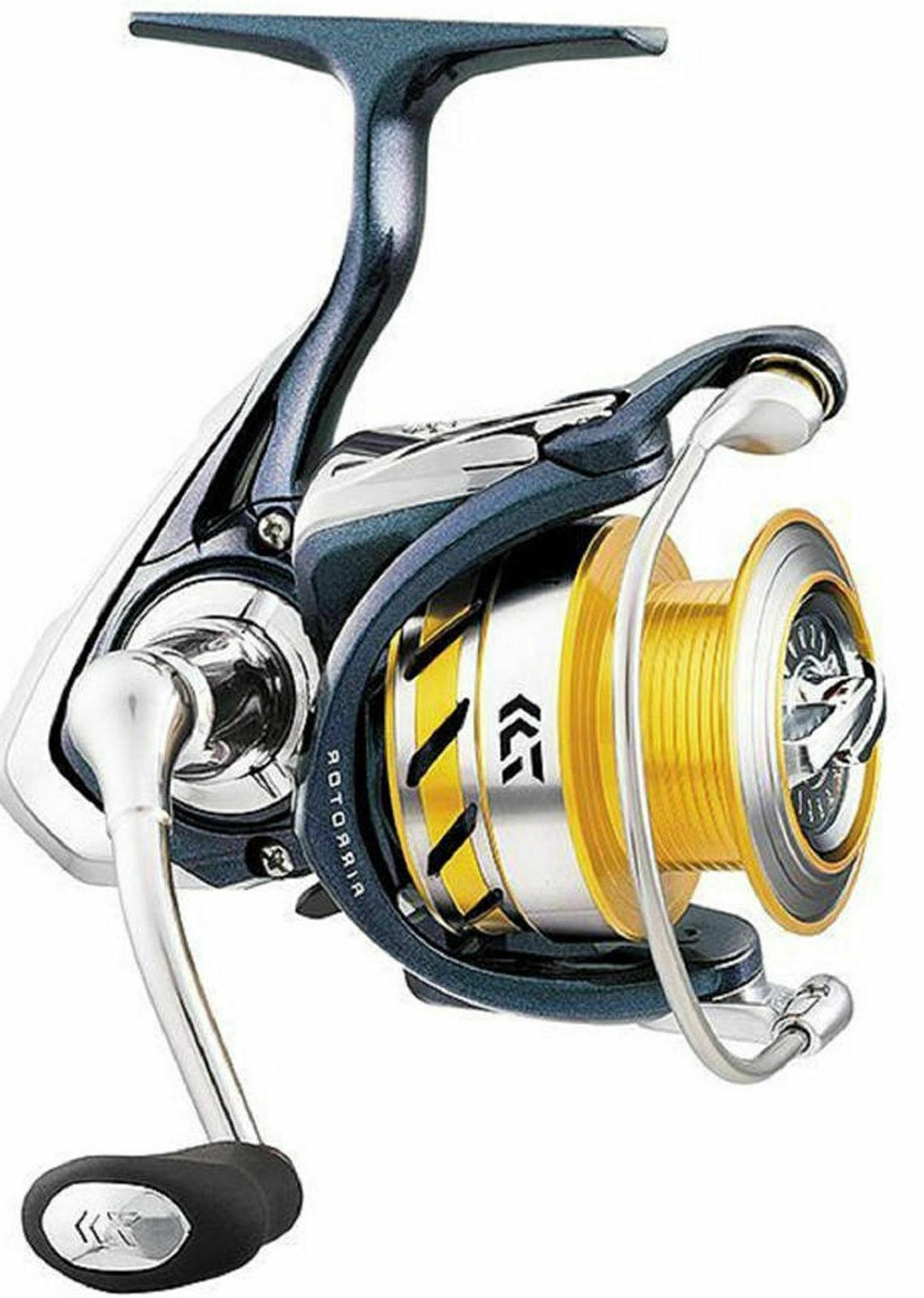 regal spinning fishing reel left