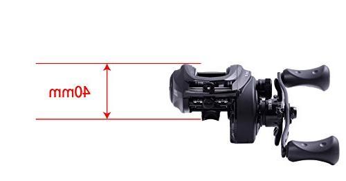 Abu Garcia x Low Profile Reel, 7.3: Gear Ratio, 18 8 Bearings, Left